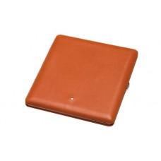Alfred Dunhills White Spot Terracotta Hard Cigarette Case (10)