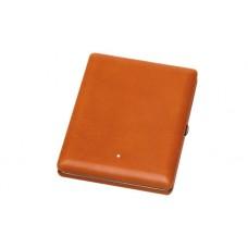 Alfred Dunhills White Spot Terracotta Hard Cigarette Case (20)