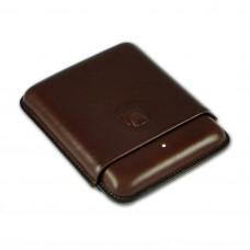 Alfred Dunhills White Spot Bulldog Cigar Case Robusto (4F) - Brown
