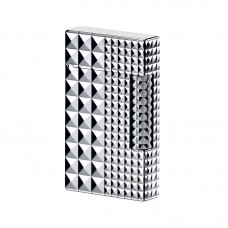 S.T.Dupont Ligne 2 Diamond Heads 2 Sizes - Palladium