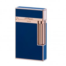 S.T.Dupont Ligne 2 Blue Chinese Laquer & Pink Gold