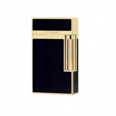 S.T.Dupont Ligne 2 - Black Chinese Laquer & Yellow Gold